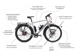 Santos Travelmaster 3+ E-bike
