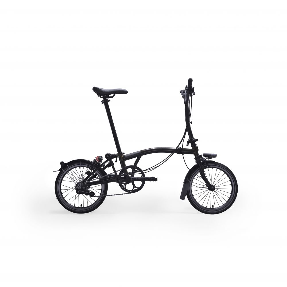 Brompton Black Edition Raw Lacquer
