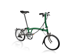 Brompton S6L Titanium (Superlight) Racing green